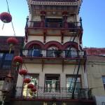 San Francisco - China Town - pagoda © Alessandra Colucci