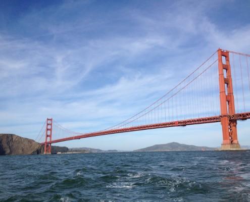 San Francisco - Golden Gate Bridge dal mare © Alessandra Colucci