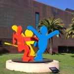 San Francisco - de Young Museum - Keith Haring - Three Dancing Figures © Alessandra Colucci