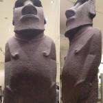 London - British Museum - Statua dell'Isola di Pasqua © Alessandra Colucci