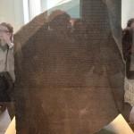 London - British Museum - Stele di Rosetta © Alessandra Colucci