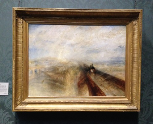 London - National Gallery - Joseph Mallord William Turner - Rain Steam and Speed © Alessandra Colucci