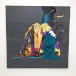 London - Saatchi Gallery - Eddy Ilunga Kamuanga - Mangbetu © Alessandra Colucci