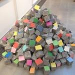 London - Serpentine Gallery - Pascale Marthine Tayou - Pavés Colorés © Alessandra Colucci