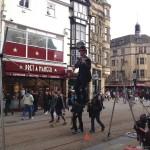 Oxford - Cornmarket Street - funambolo