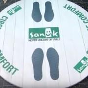 Sanuk - ambient + direct marketing