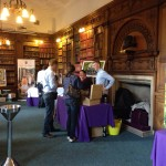 The Oxford Wine Festival - stand