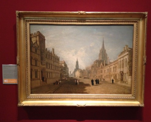 Oxford - Ashmolean Museum - Joseph Mallord William Turner - View of High Street [Oxford] © Alessandra Colucci