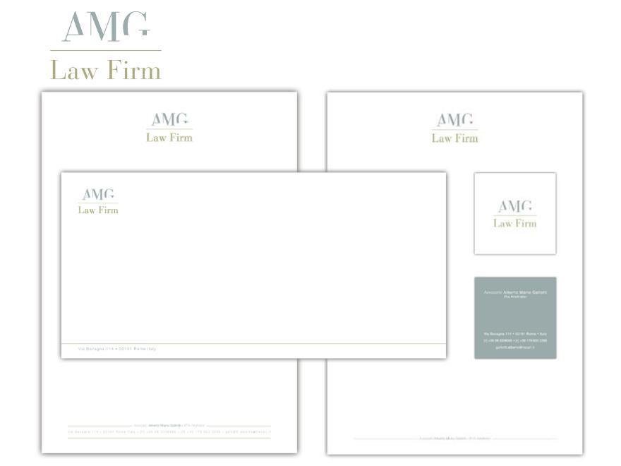 AMG - marchio e coordinato