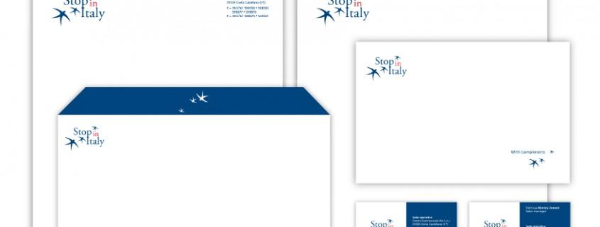 Stop in Italy - brand identity