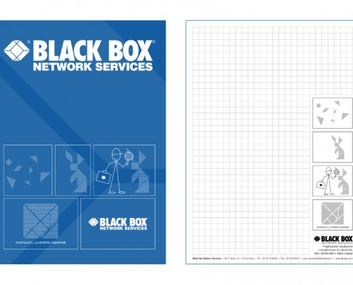 Black Box - block notes e folder