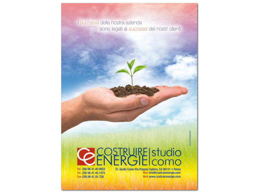 Costruire Energie - advertising campaign