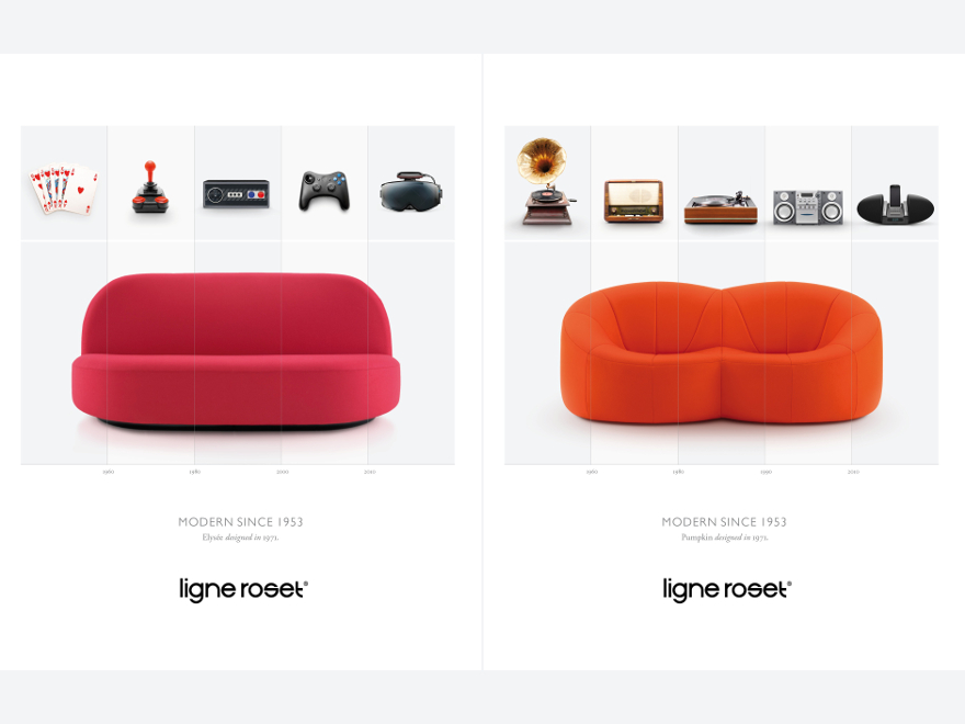 Ligne Roset - heritage marketing