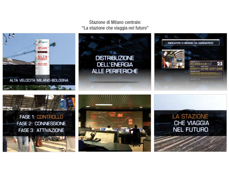 RFI - spot Milano Centrale
