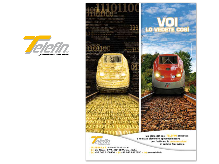 Telefin - advertising campaign
