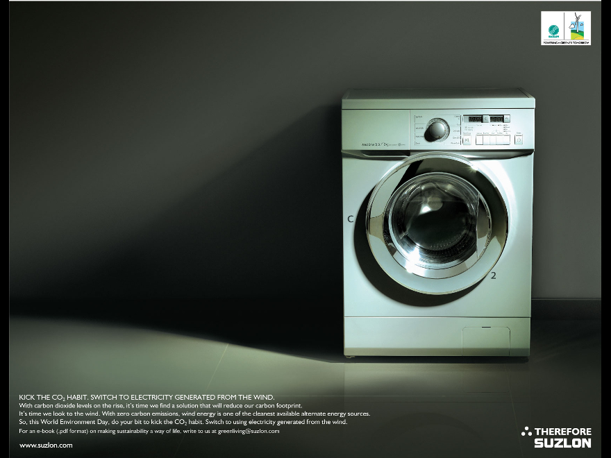 Suzlon - advertising campaign