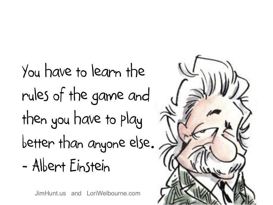 Competitive Advantage - Albert Einstein