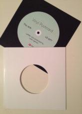 Vinyl Postcard - sample