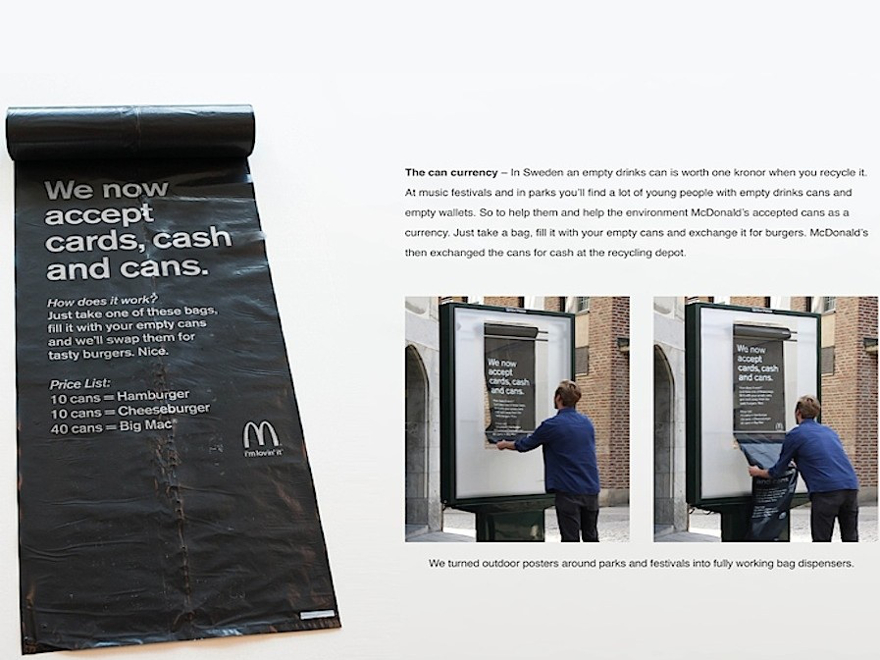 McDonald's - ambient marketing