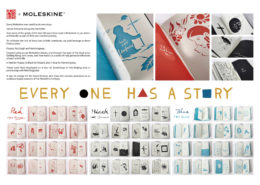 Moleskine - ambient marketing