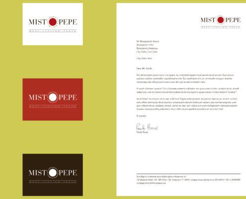 Misto Pepe - brand identity