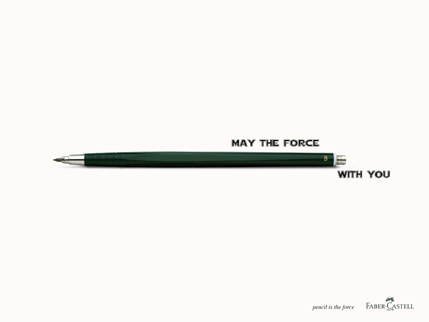 Faber-Castell - campagna pubblicitaria Star Wars