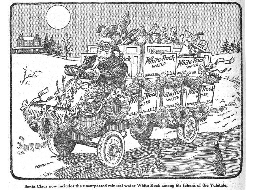 White Rock - campagna pubblicitaria 1915