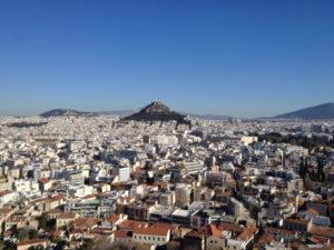 Atene - Monte Licabetto - panorama