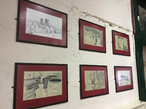 Belfast - McComb's tour - Bushmill distillery