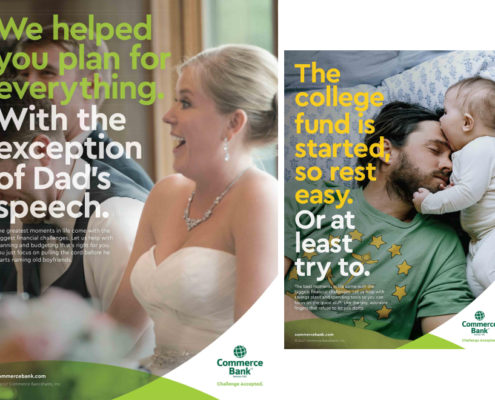 Commerce Bank - advertising campaign