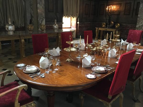Woodstock - Blenheim Palace - sala da pranzo