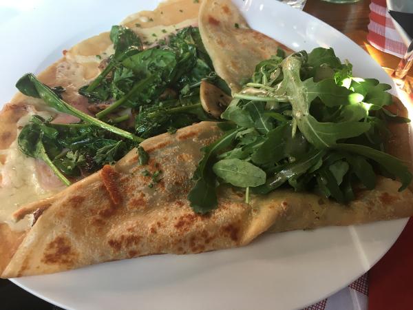 Oxford - The Old Bookbinders - crepe salata