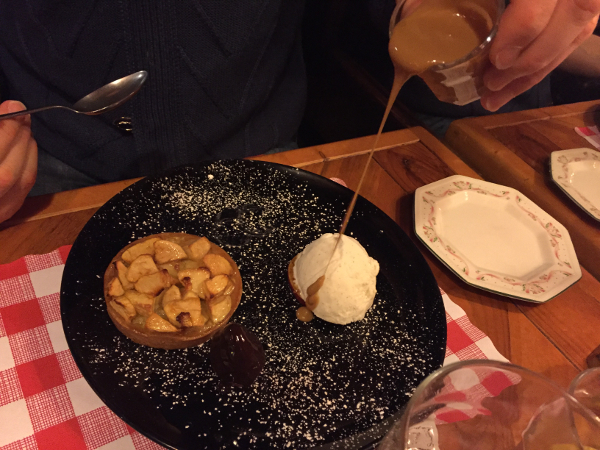 Oxford - The Old Bookbinders - torta di mele
