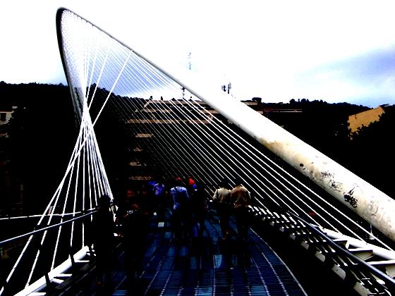Innovare e connettere: un ponte di Bilbao