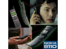 Product placement Nokia in Matrix - photo via widetag.com