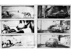 Spghetti Odio storyboard - image via ilcorto.it