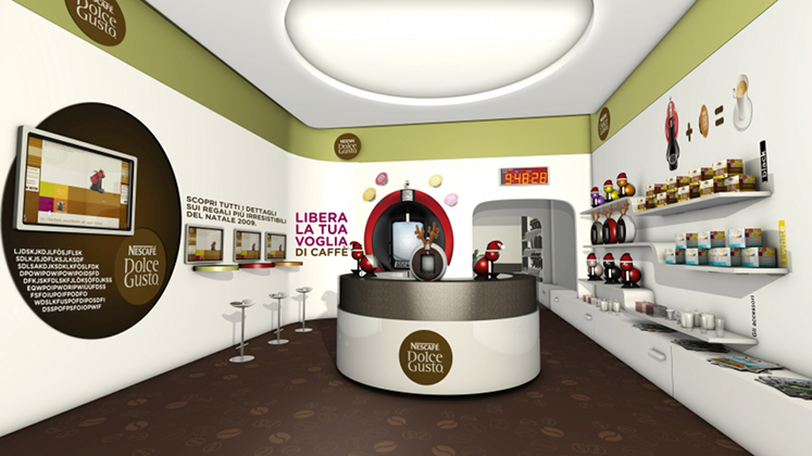 temporary store Nescafé Dolce Gusto, Milano