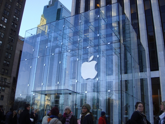 Apple 5h Avenue - photo by Alessandra Colucci