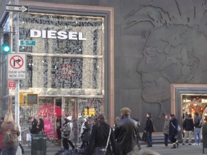 Diesel 5th Avenue – photo by Alessandra Colucci