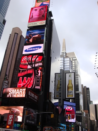 Time Square - photo by Alessandra Colucci