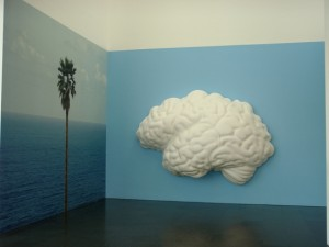"MACBA: John Baldessari ""Brain/Cloud (two views)"" 2009 - photo by Alessandra Colucci"