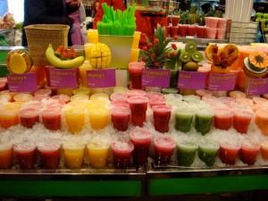Mercat Boqueriza: succo di frutta - photo by Alessandra Colucci