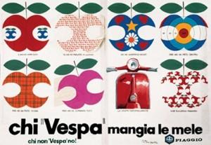 campagna pubblicitaria Vespa Piaggio