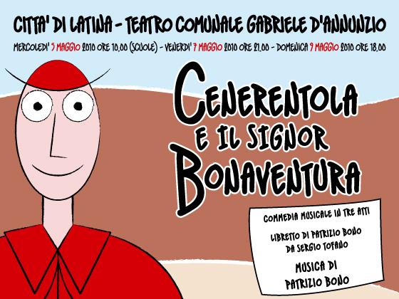Cenerentola e il Signor Bonaventua il 7 e 9 maggio al teatro di Latina