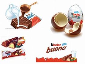 Kinder, esempio di line brand