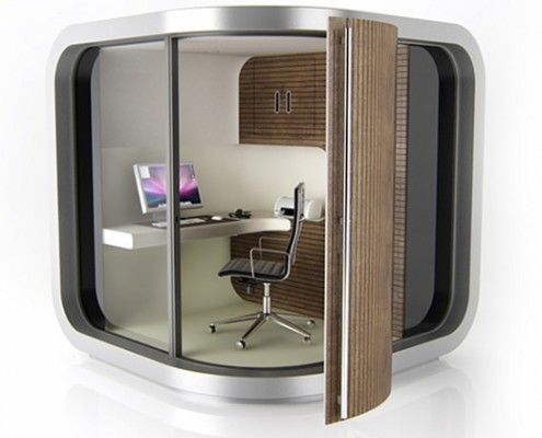 OfficePOD via officepod.co.uk