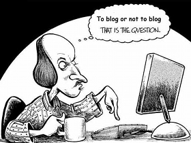 Blog or not via CoxAndForkum.com
