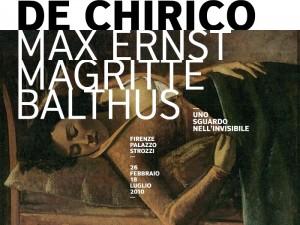 De Chirico, Max Ernst, Magritte, Balthus - Palazzo Strozzi (Firenze)