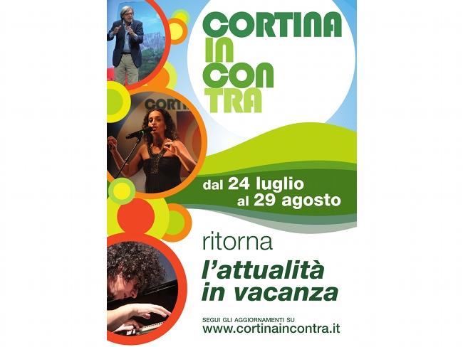 """Cortina Incontra """"L'attualità in vacanza"""" - edizione estate 2010"""