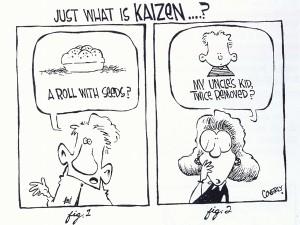 Cos'è il Kaizen? - cartoon via pncgroup.org